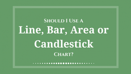 Should I use a line chart, mountain or area chart, bar chart, ohlc, or candlestick chart
