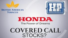 Are Honda Motor Company, British American Tobacco, and Helmerich & Payne Good covered call stocks?