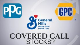 Are PPG, Genuine Parts, and General Mills good covered call stocks?
