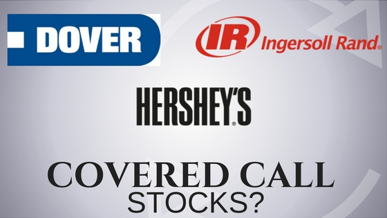Are Hershey, Dover Corporation, and Ingersoll Rand covered call stocks?