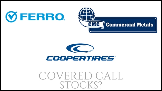 Are Ferro Corp, Commercial Metals, and Cooper Tire & Rubber good stocks to own for recurring monthly income?