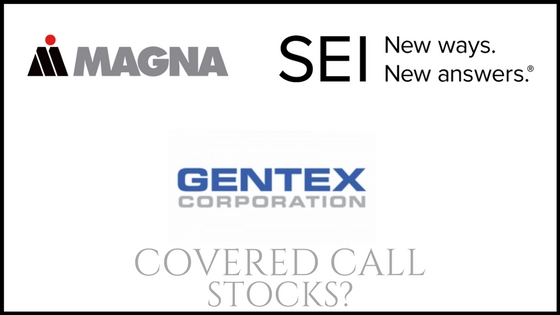 Are SEI Investments, Magna International, and Gentex good stocks to own for monthly income?
