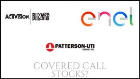 Are Enel Americas, Activision Blizzard, and Patterson UTI Energy good stocks for covered calls?