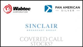 Are Sinclair Broadcast Group, Pan American Silver, and Westinghouse Air Brake good stocks to own for covered call income?